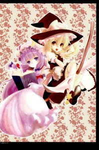 Rating: Safe Score: 8 Tags: kanno_touko kirisame_marisa kyokutou_hanayome patchouli_knowledge touhou User: Radioactive