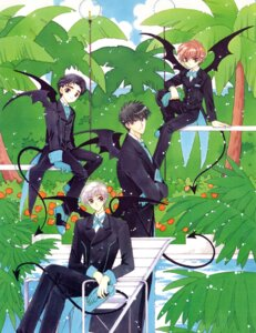 Rating: Safe Score: 5 Tags: card_captor_sakura clamp crease fixme kinomoto_touya li_syaoran male tsukishiro_yukito yamazaki_takashi User: Share