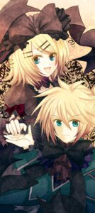 Rating: Safe Score: 7 Tags: kagamine_len kagamine_rin lolita_fashion soriku vocaloid User: charunetra