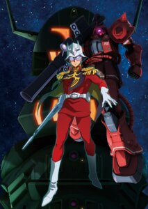 Rating: Safe Score: 7 Tags: char_aznable gundam gundam_the_origin kotobuki_tsukasa mecha weapon User: saemonnokami