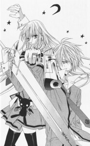 Rating: Safe Score: 3 Tags: betrayal_knows_my_name gun monochrome murasame_touko murasame_tsukumo odagiri_hotaru seifuku sword User: charunetra