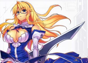 Rating: Safe Score: 47 Tags: blood cleavage dress freezing kim_kwang-hyun megane no_bra satellizer_el_bridget weapon User: Mr_GT