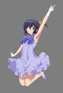 Rating: Safe Score: 46 Tags: chuunibyou_demo_koi_ga_shitai! dress eyepatch takanashi_rikka transparent_png User: tara