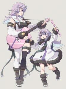 Rating: Safe Score: 14 Tags: garter guitar nijisanji nun_bora ruo thighhighs User: Munchau