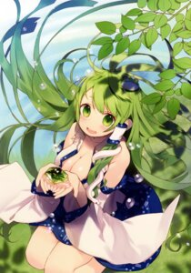 Rating: Safe Score: 51 Tags: cleavage kochiya_sanae misoni_comi open_shirt touhou User: SweetLemonade