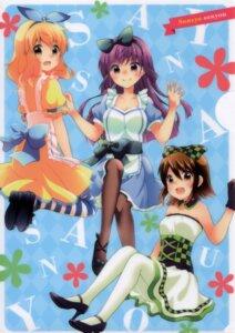 Rating: Safe Score: 25 Tags: arai_cherry dress hayama_teru heels maid nishikawa_youko odagiri_futaba pantyhose sansha_sanyou User: Seneca347
