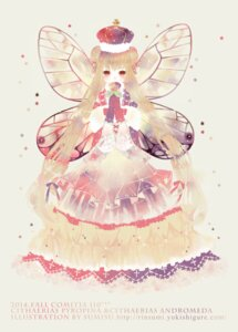 Rating: Safe Score: 12 Tags: dress sumisu tagme wings User: Radioactive
