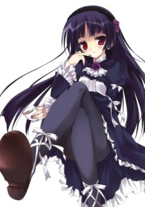 Rating: Safe Score: 66 Tags: dress gokou_ruri karomix karory lolita_fashion ore_no_imouto_ga_konnani_kawaii_wake_ga_nai pantyhose User: Twinsenzw