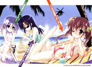 Rating: Questionable Score: 12 Tags: bikini chainsaw nanashiro_nanami nogizaka_haruka_no_himitsu nogizaka_mika sakurazaka_hazuki shaa swimsuits User: Onpu