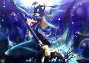 Rating: Questionable Score: 20 Tags: cleavage k.lovc. league_of_legends mermaid nami_(league_of_legends) User: fairyren