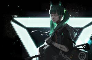 Rating: Safe Score: 19 Tags: animal_ears fom gun megane User: Mr_GT