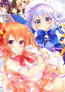 Rating: Safe Score: 57 Tags: gochuumon_wa_usagi_desu_ka? hoto_cocoa kafuu_chino kirima_sharo rouka tedeza_rize ujimatsu_chiya waitress User: Mr_GT