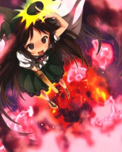 Rating: Safe Score: 10 Tags: moriki_takeshi reiuji_utsuho touhou User: Radioactive