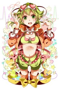 Rating: Safe Score: 9 Tags: cleavage gumi nou vocaloid User: shizukane