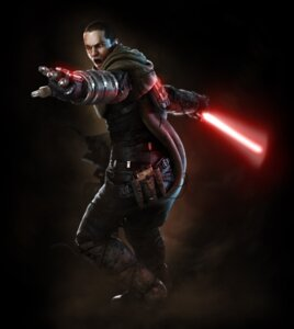 Rating: Safe Score: 14 Tags: cg male soul_calibur star_wars starkiller sword weapon User: Yokaiou