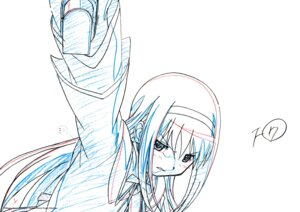 Rating: Safe Score: 2 Tags: akemi_homura puella_magi_madoka_magica sketch User: Hatsukoi