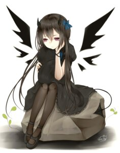 Rating: Safe Score: 32 Tags: chita_(ketchup) dress pantyhose tail wings User: Mr_GT