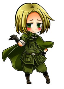 Rating: Safe Score: 2 Tags: chibi hajime_(kaniku) hetalia_axis_powers male poland uniform User: Amperrior