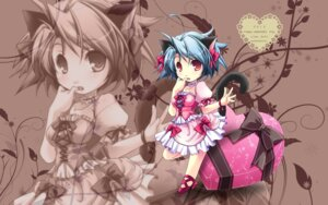 Rating: Safe Score: 8 Tags: animal_ears lilac_soft nekomimi sonokichi tail valentine wallpaper User: saemonnokami