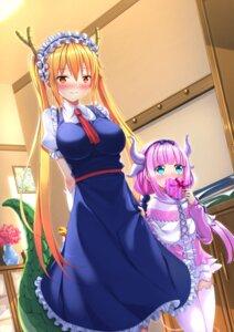 Rating: Safe Score: 36 Tags: horns kanna_kamui kobayashi-san_chi_no_maid_dragon maid swordsouls tail thighhighs tooru_(kobayashi-san_chi_no_maid_dragon) valentine User: Mr_GT