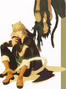 Rating: Safe Score: 2 Tags: animal_ears kurahana_chinatsu lamento male nitroplus_chiral screening User: Riven