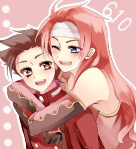 Rating: Safe Score: 5 Tags: kurabayashi_matoni lloyd_irving male tales_of tales_of_symphonia zelos_wilder User: charunetra