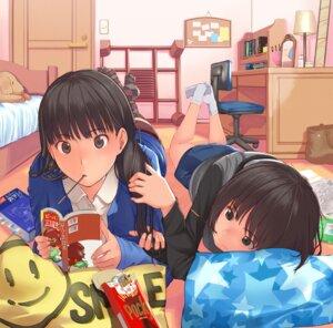 Rating: Safe Score: 74 Tags: amagami ayatsuji_tsukasa santa tachibana_miya User: blooregardo