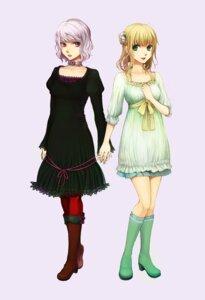 Rating: Safe Score: 6 Tags: dress nanashi pantyhose User: Radioactive