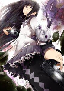 Rating: Safe Score: 11 Tags: akemi_homura garakuta gun pantyhose puella_magi_madoka_magica User: charunetra