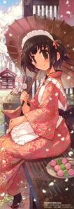 Rating: Safe Score: 20 Tags: kimono komorebi-notebook momiji_mao stick_poster User: petopeto
