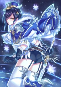 Rating: Safe Score: 15 Tags: heels heterochromia male sword thighhighs zoff_(daria) User: charunetra