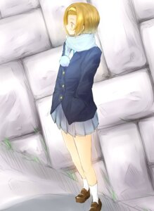 Rating: Safe Score: 5 Tags: k-on! seifuku suika_wari tainaka_ritsu User: charunetra
