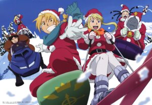 Rating: Safe Score: 17 Tags: alphonse_elric christmas edward_elric fullmetal_alchemist kawakami_tetsuya may_chang olivier_mira_armstrong pantyhose roy_mustang shao_may winry_rockbell User: Radioactive