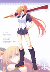 Rating: Safe Score: 11 Tags: ice_&_choco kokonobi sword User: petopeto