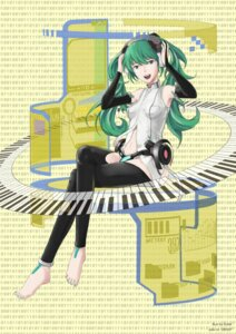 Rating: Safe Score: 8 Tags: dafei hatsune_miku miku_append thighhighs vocaloid vocaloid_append User: Manabi