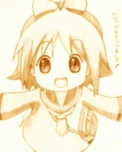 Rating: Safe Score: 4 Tags: anzu_(hanamaru_youchien) godees hanamaru_youchien monochrome seifuku User: charunetra