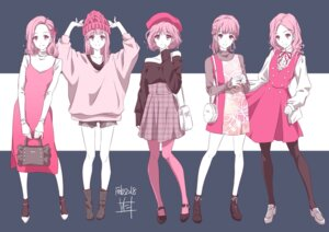 Rating: Safe Score: 38 Tags: dress heels nii_manabu pantyhose sweater torn_clothes User: saemonnokami