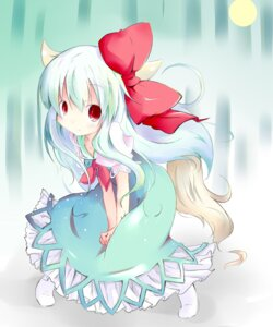 Rating: Safe Score: 9 Tags: ex_keine kamishirasawa_keine shichinose touhou User: fireattack