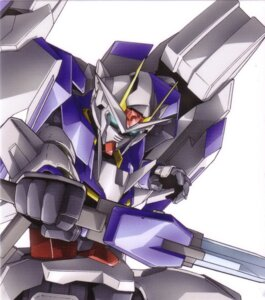 Rating: Safe Score: 5 Tags: gundam gundam_00 mecha scanning_artifacts screening User: harimahario