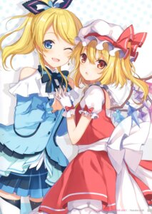 Rating: Questionable Score: 17 Tags: 6u crossover flandre_scarlet love_live! tagme thighhighs touhou wings User: Radioactive