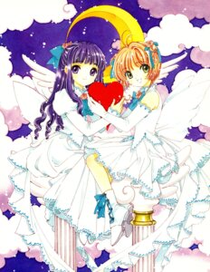 Rating: Safe Score: 11 Tags: card_captor_sakura clamp daidouji_tomoyo kinomoto_sakura lolita_fashion wings User: Share