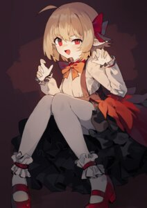 Rating: Safe Score: 32 Tags: heels pantyhose pointy_ears rumia sh touhou User: Mr_GT