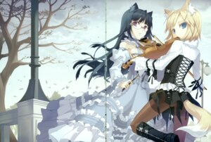 Rating: Safe Score: 20 Tags: animal_ears gap h2so4 lolita_fashion megane nekomimi User: midzki