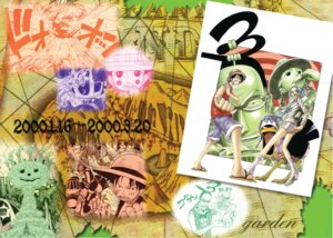 Rating: Safe Score: 4 Tags: carue miss_goldenweek monkey_d_luffy mr._3 nefertari_vivi oda_eiichirou one_piece User: Davison