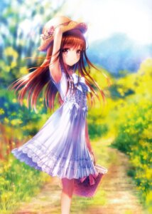 Rating: Safe Score: 95 Tags: dress goto-p scanning_artifacts summer_dress User: Radioactive