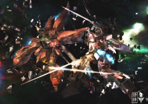 Rating: Questionable Score: 19 Tags: gundam gundam_unicorn mecha sinanju unicorn_gundam User: withul