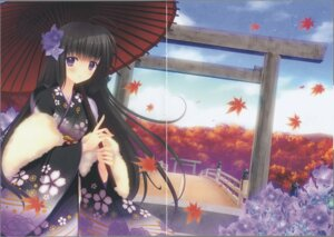 Rating: Safe Score: 11 Tags: crease fixme kimono nishimata_aoi umbrella User: k25c2yf