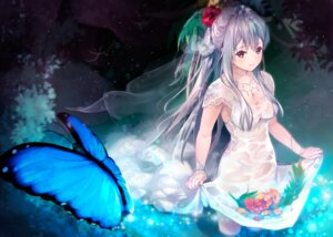 Rating: Safe Score: 52 Tags: dress kokoa_(artist) see_through skirt_lift tagme wet wet_clothes User: BattlequeenYume