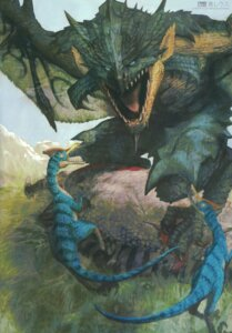 Rating: Safe Score: 7 Tags: aptonoth huke monster monster_hunter rathalos velociprey User: Radioactive
