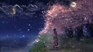 Rating: Safe Score: 30 Tags: kimono kotomi_alpaca landscape wallpaper User: Arsy